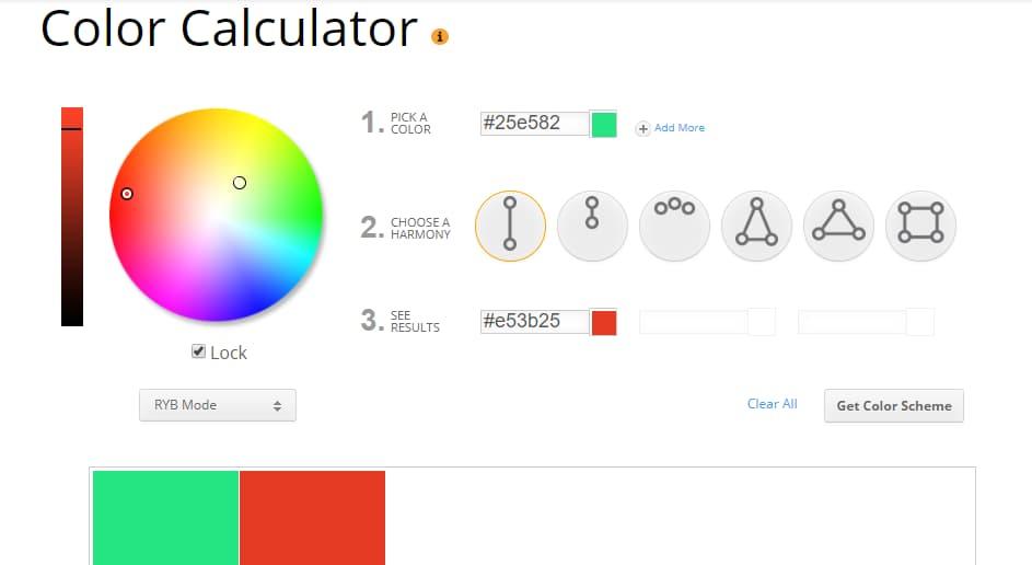 ecommerce website design color scheme 3